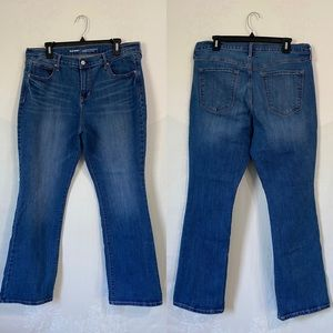Old Navy Mid-Rise Curvy profile jeans 14 short